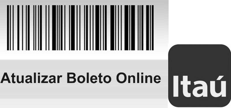 Atualizar boleto banco Itaú