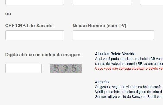 banco do brasil atualizar boleto atrasado