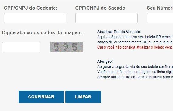 banco do brasil emissao de boleto