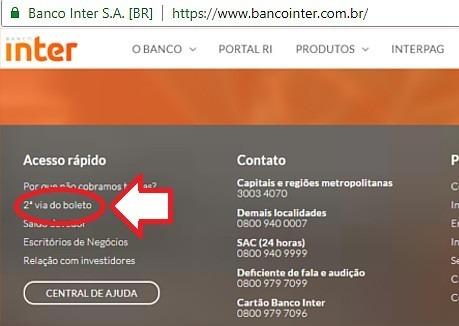 banco intermedium 2 via boleto