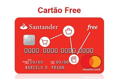 cartaõ de credito sem anuidade santander