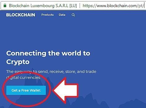criar carteira bitcoin