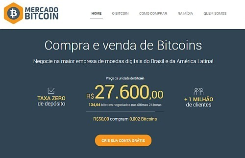 mercado bitcoin carteira digital