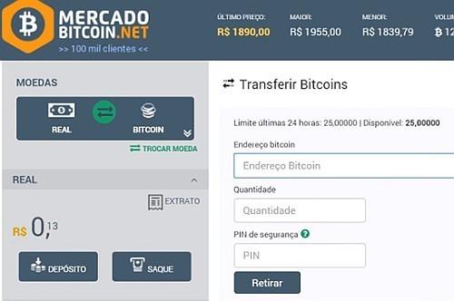 transferir bitcoins