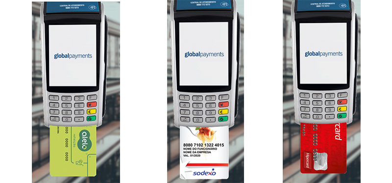 Global Payments: Máquinas de Cartões