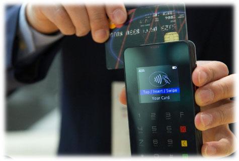 Global Payments maquinas de cartão