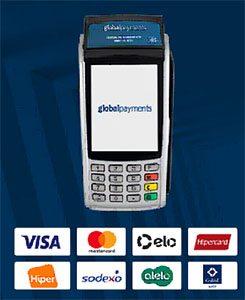Máquinas de Cartões da Global Payments
