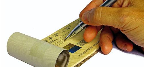 O que é devolução de cheque