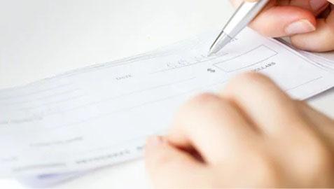 Qual tipo de devolução de cheque tem registro