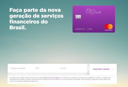 cartao nubank internacional