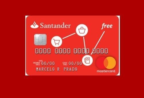 cartao santander free internacional