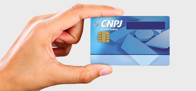 como imprimir o cartão do CNPJ