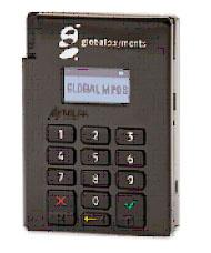 máquinas da Global Payments