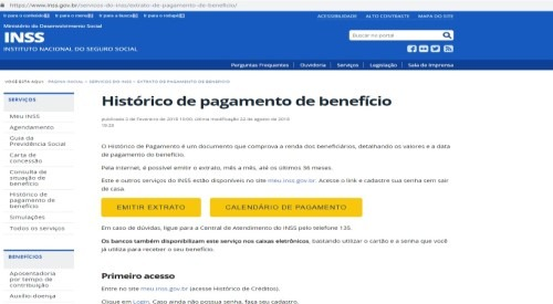 previdencia social extrato consulta