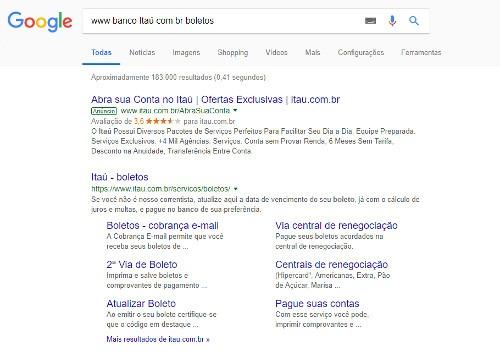 www banco itau com br boletos