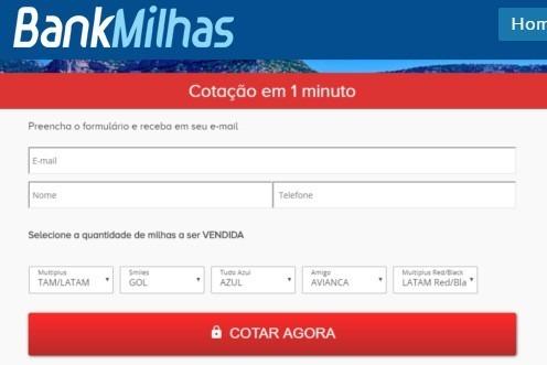 bankmilhas com br
