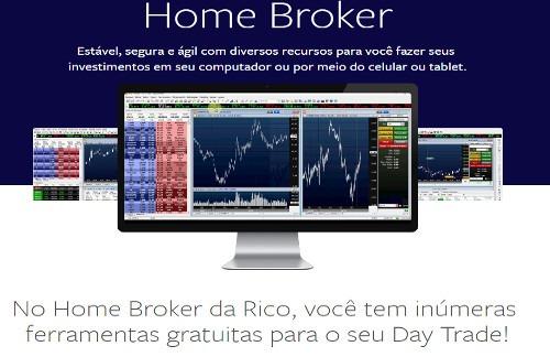 rico corretora home broker