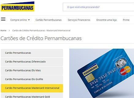 fatura cartao mastercard pernambucanas
